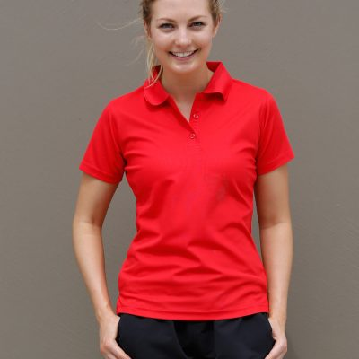 Ladies' Cooldry Pique Soild Colour S/S Polo
