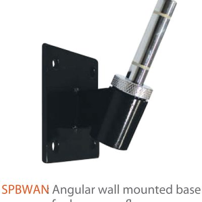 Indoor Angular Wall Mounted Base