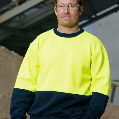 Hi-Vis two tone safety windcheater