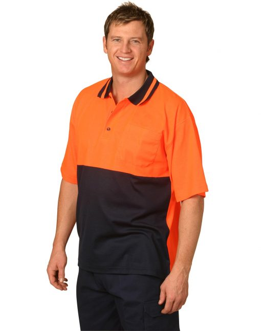 Hi-Vis truedry safety polo S/S