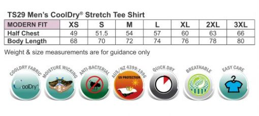Men's Cooldry Stretch Tee