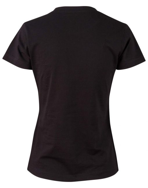 Ladies' Cotton Semi Fitted Tee