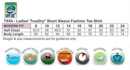 Ladies' Truedry Fashion S/S T-shirt